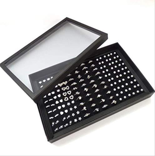 GIAO Organizador De Joyería Colgante De Estantedisplay Box with Cover, Jewelry Storage...