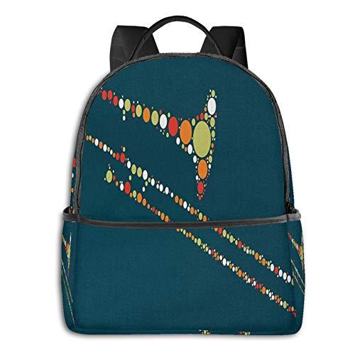 Rucksack Freizeit Damen Herren, Posaune Campus Kinderrucksack, Daypack Schulrucksack Sportrucksack Tablet Tasche 15,6 Zoll