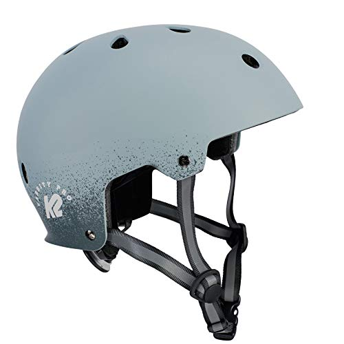 K2 Damen Herren Inline Skates Helm VARSITY PRO - Grau - S (48-54cm) - 30D4108.1.1.S