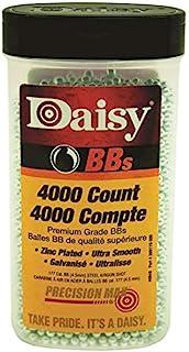 Daisy 40 BBS, 4000 CT, 0.177 Caliber, Zinc-Plated Steel, 4.5 mm
