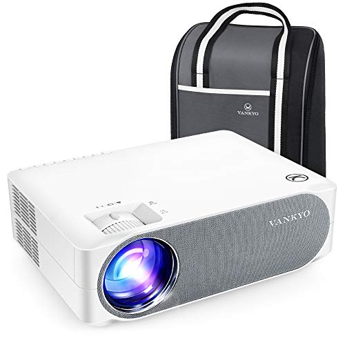"VANKYO Performance V630 Native 1080P Full HD Projector, 300"" LED Projector w/ ±45° Electronic Keystone Correction, Compatible w/ TV Stick, HDMI, Laptop, Smartphone for Home/Business Use"