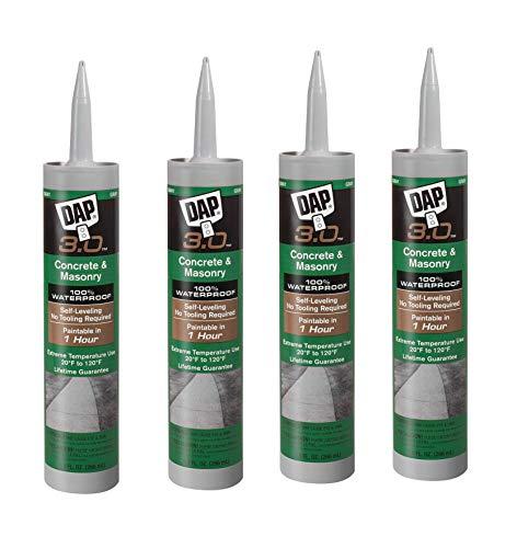 Dap 18370 Self-Leveling Concrete 3.0 Sealant 9.0-Ounce (36 oz (4 Pack))