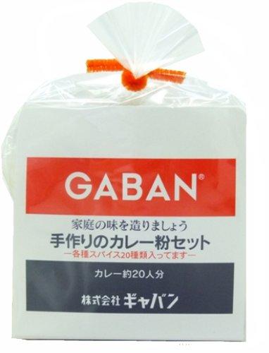 GABAN 手作りのカレー粉セット 100g