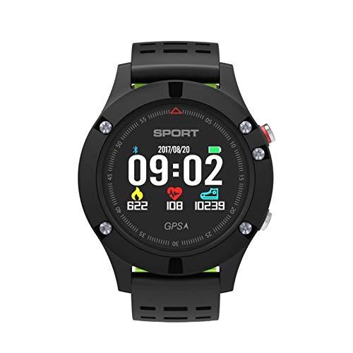WANGJIA Reloj para Hombre F5 Smartwatch Ip67 GPS Impermeable Seguimiento Bluetooth Reloj Detección De Frecuencia Cardíaca Gris