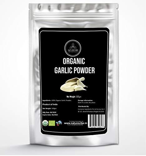 Organic Garlic Ground Powder by Naturevibe Botanicals (500 gm) | Raw,...
