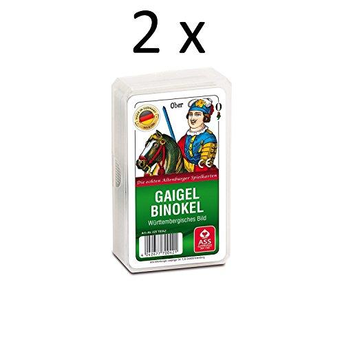 ASS Altenburger Spielkarten Geigel Binockel (2 x)