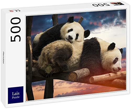 Lais Puzzle Panda 500 Pezzi