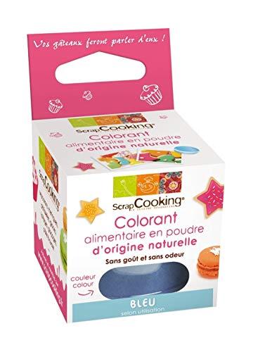 SCRAPCOOKING - Colorant alimentaire naturel bleu