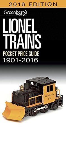 Lionel Pocket Price Guide 1901-2016 (Greenberg's Pocket Price Guide Lionel Trains)