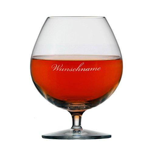 Stölzle Lausitz Edles Cognac Glas 585ml mit Gratis Gravur des Namens