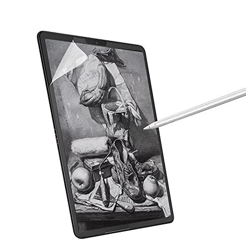 Junfire Paperfeel wie Papier Bildschirmschutz für Surface pro 7/6/5/4, 12.3 Zoll 2019,Papier-Textur Displayschutzfolie wie auf Papier Schreiben, Malen Zeichnen(EIN Stück)