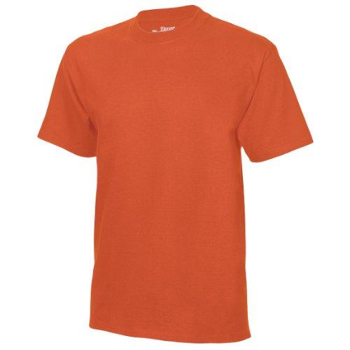 Hanes Herren T-Shirt Tagless Beefy (2XLarge) (Orange)