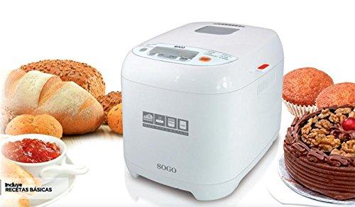 Sogo SS-10720 - Máquina para hacer pan