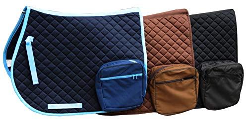 AMKA Schabracke mit 2 Taschen mit 2 Innenfächern Wanderreitschabracke