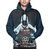 Unisex Hoodies Thy Art is Murder Sweatshirt Pullover with Pockets for Men Woman's Black