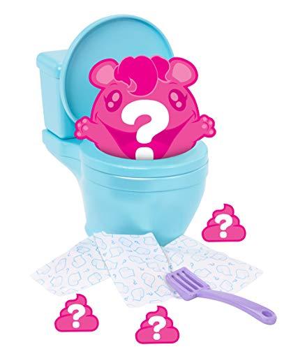 Pooparoos FWN06 Überraschungsfigur, inkl. Toilette