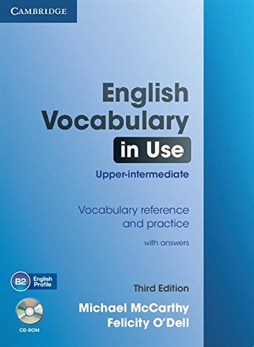 English Vocabulary in Use Upper-Intermediate with Answers [With CDROM]