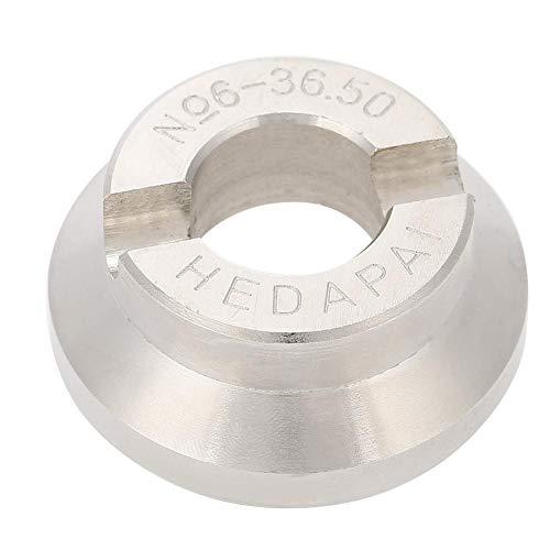 yuyte Uhren aufbewahrungsbox,36,5 mm Uhr zurück Gehäuseöffner sterben Uhrmacher Repair Tool für Rolex/Tudor Watch