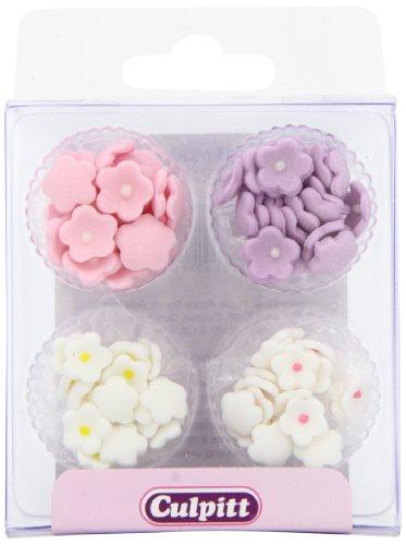 Mini Daisy Sugar Decorations - Assorted