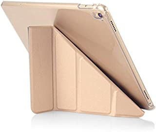 Pipetto Premium Translucent Smooth Ultra Slim Origami Smart Stand Case Shell Cover for Apple iPad Pro 9.7 Model 5 in 1 Fol...