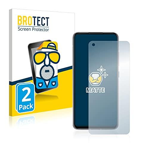 BROTECT 2X Entspiegelungs-Schutzfolie kompatibel mit Asus ZenFone 8 Bildschirmschutz-Folie Matt, Anti-Reflex, Anti-Fingerprint