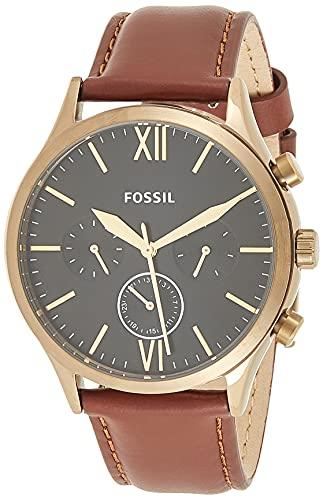 Fossil - Reloj de Cuarzo de Acero Inoxidable para Hombre BQ2408