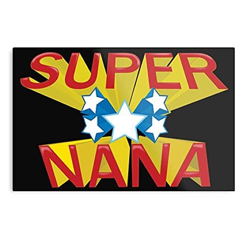 Póster decorativo de pared de Super Nana
