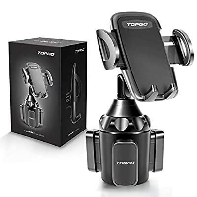 Car Cup Holder Phone Mount Adjustable Automobile