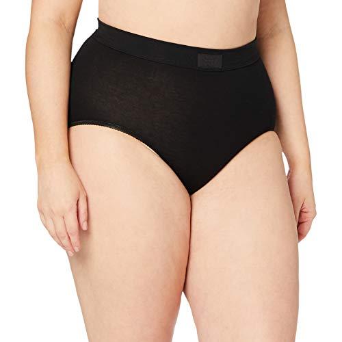 Sloggi Damen Double Comfort Max Slip, Schwarz (BLACK), EU 50
