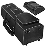 JANUS Golf Travel Bags.Golf Travel Bag.900D Heavy-Duty Oxford Waterproof Suitable for Shoulder Back or Hand Pull Golf Travel Bags for Airlines with Wheels.Travel Golf Bag .Golf Travel Cover Case
