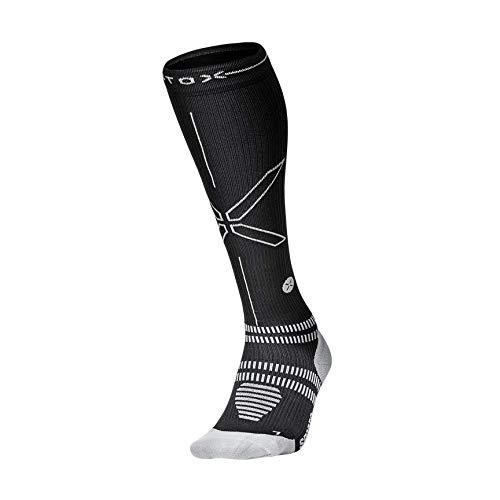 STOX Energy Socks | Sportsocken für Frauen | High-Tech Kompressionsstrümpfe | Verletzungen und Muskelkater vorbeugen | Keine müden Beine | Extra Komfort | Gepolsterter Verse