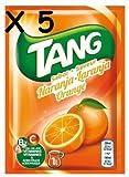 Cmagic - 5 bolsas de 30 g de polvos Tang de naranja para 5litros de bebida, con vitaminas A, B2y C, y ácido fólico