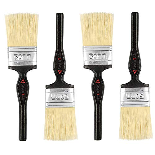 Spartan 2 Inch (50 MM) Paint Brush Set of 4 (Multicolor)