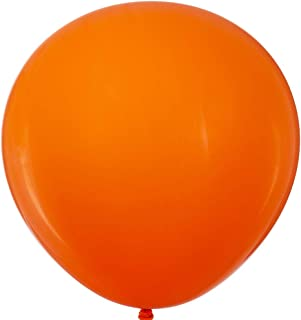 36 inch Orange Big Balloons Quality Jumbo Latex Giant Balloons Party Decorations Pack of 6