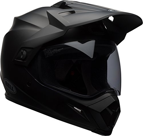 Bell MX-9 Adventure MIPS Dirt Helmet (Matte Black - Large)