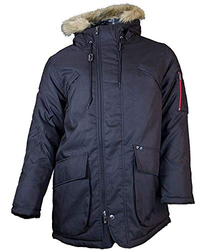 Ecko Jacke Natural Selection, schwarz, GR: L