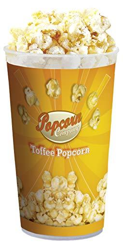 Aperisnack® - AP03.015.02 Popcorn al gusto Toffee 135g (1 Barattolo) , deliziosi Snack caramellati di burro di Toffee adatti ad adulti e bambini