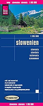 Reise Know-How Landkarte Slowenien 1 : 185.000