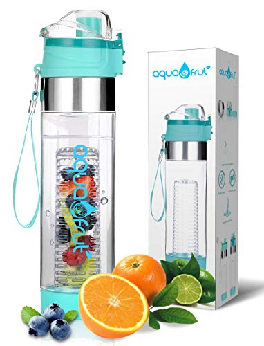 AquaFrut 24oz Push-Open Lid (Teal)