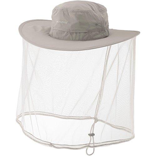 Craghoppers Craghoppers Unisex Nl Ultimative Hat Hat Mit Moskitonetz, Pergament, S/M