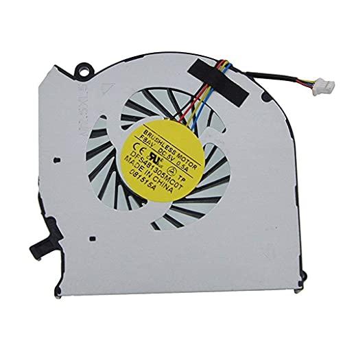 Nuevo ventilador de refrigeración de CPU para computadora portátil HP ENVY dv6-7200 dv6t-7200 CTO dv6-7202se dv6-7210us dv6-7211nr dv6-7213nr dv6-7214nr dv6-7215nr dv6-7218nr dv6-7220us dv6-dv