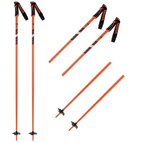 K2 Skis 10D3401.1.2.110 Freeride Bâton de Ski pour Homme Orange 18/110 cm