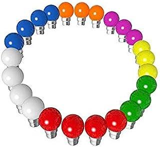 Rêvenergie - Rêvenergie Lot 24 ampoules Led B22 guirlande guinguette multicolore