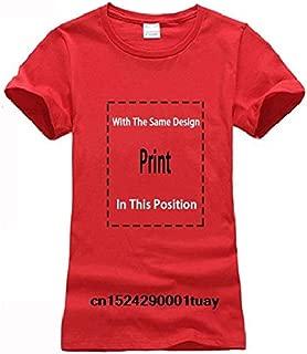 New Summer Tee Shirt Bonsai Ying Yang Japan Tree Sun Buddhist Zen Circle Tshirt Cool T-Shirt:Women-Red, XXL