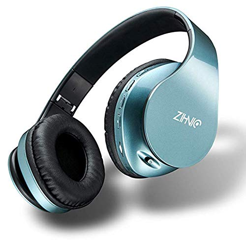 Bluetooth Headphones Wireless,Over Ear Headset with 20Hr Play Time, Foldable