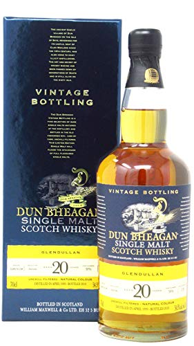 Photo of Glendullan 20 Year Old 1999 – Dun Bheagan Single Malt Whisky