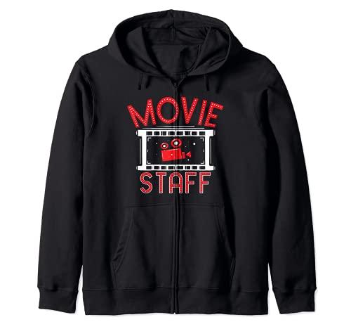 Movie Staff - Movie Night Film Fan - Observador de cine Sudadera con Capucha