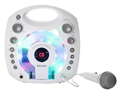 ION Audio Karaoke Party Impianto Karaoke Portatile con...