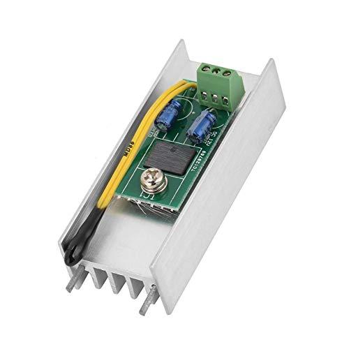 Keenso 12V 1A Lüfter Automatischer Lüftergeschwindigkeitsregler Lüfter Automatische Temperaturregelung Thermostat Drehzahlregler