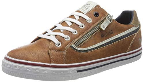 MUSTANG Herren 4147-301-307 Sneaker, Braun (Cognac 307), 41 EU